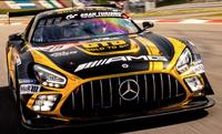 Auf Anhieb TOP 10 - GOLD-TO-GO-Mercedes beim Nürburgrennen