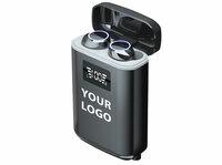 4 in 1 - In-Ear Kopfhörer, Ladeakku, Kommunikation und Taschenlampenfunktion in einem