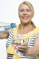 Gut versorgt mit natürlichem Mineralwasser:
