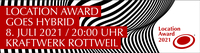 Final Call: Bewerbungsphase für den Location Award endet am 11.06.21