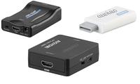 HDMI-auf-Scart-Adapter & für Spielkonsole, Wii-1080p-Adapter