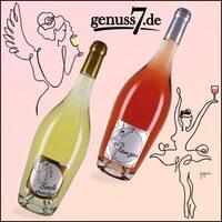 Kunst trifft Wein bei der Herz-aus-Wein Linie von genuss7