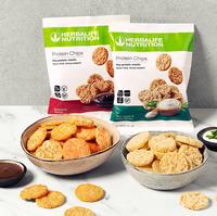 Snacken ohne schlechtes Gewissen: Herbalife Nutrition launcht erste Protein-Chips