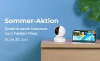 Reolink startet Sommer-Aktion 2021 mit bis zu 30% Rabatt auf Top-Kameras!
