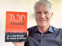 Top Consultant: Dr. Kraus & Partner erhält zum 10. Mal das begehrte Gütesiegel