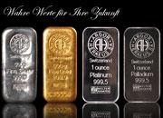 Edelmetalle - ihr Stellenwert in der Vergangenheit und in der Zukunft