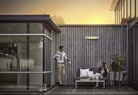 Wohnzimmer im Grünen: Angenehme Wärme mit Infrarot-strahlern