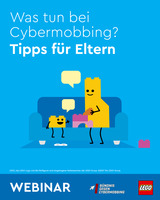 Lego bietet Cybermobbing-Webinare für Eltern an