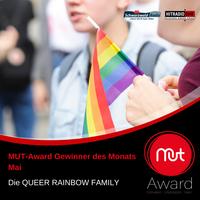 QUEER RAINBOW FAMILY gewinnt den MUT-Award des Monats Mai