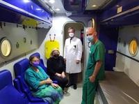 Mit der Überdruck-Sauerstoff-Therapie Leben retten