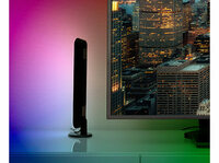 Luminea Home Control WLAN-USB-Stimmungsleuchte mit RGB+CCT-LEDs