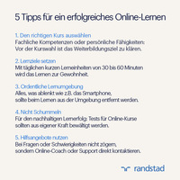 5 Tipps zum e.learning: So gelingt das Online-Lernen