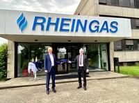Spende von Rheingas ermöglicht Angebot der   Berufsorientierung für Jugendliche in Brühl