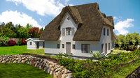 Neue Reetdachhäuser auf der Sonneninsel Usedom