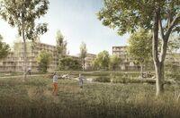 Innovatives und nachhaltiges Stadtquartier im Grünen
