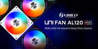 Raffiniert und edel: Lian Li UNI FAN AL120 RGB