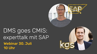 Exklusiver SAP Experttalk - DMS goes CMIS
