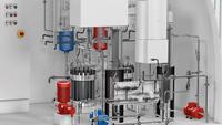 Integrierte 3D CAD-Anlagenplanung für grüne Wasserstoffanlagen