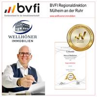 Marcus Wellhöner wird Regionaldirektor des BVFI für Mülheim an der Ruhr