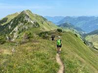 Gipfelglück für alle auf dem neuen Tell-Trail