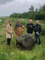 Neues Wahrzeichen: Texels geografischer Mittelpunkt offiziell enthüllt