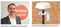 Ready for 5G: Vitel präsentiert neue Peplink Outdoor-Antenne Puma 421