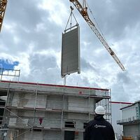 Erfolgreicher Bauabschnitt: Indoor Skydiving-Anlage am Rhein-Neckar-Zentrum in Viernheim im Zeitplan