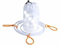 Lunartec 2in1-Outdoor-USB-LED Lichtschlauch 1,5 oder 3 m