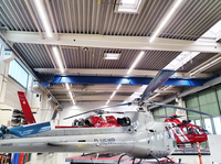 Hubschrauberwartung im besten Licht