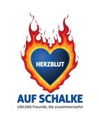 Blau-weißes Herz schlägt für Schalke 04