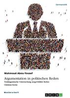 Argumentationstechniken in politischen Reden