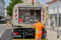 Neue Bitumenspritzmaschine geht bei EUROVIA Hannover in den Einsatz