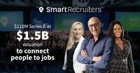 110 Millionen USD Finanzierung, mit 1,5 Milliarden USD bewertet - SmartRecruiters optimiert die Personalbeschaffung in Unternehmen