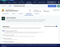 Automatisierte Alerts in SearchLight für Domain-Spoofing