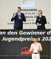 """GOLD TO GO unterstützt Jugendpreis """"Heute schon an Morgen denken"""""""