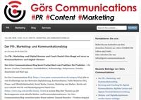Görs Communications - der PR-, Marketing- und Kommunikationsblog