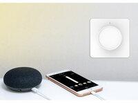 Luminea Home Control WLAN-Unterputz-Lichtschalter