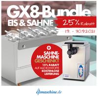 Die neuen Super - GX - Aktionen von eismaschine.de