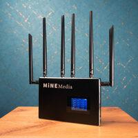 Neue Streaming Encoder und Bonding Router von Mine Media