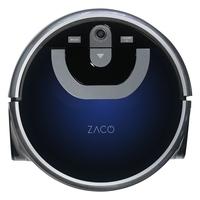 ZACO W450 Nass-Saugroboter - vollautomatisch saubere Böden mit intelligenter Navigation und zwei Wassertanks