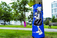 #artfortrees: Street-Art-Baumbewässerungssäcke sorgen für mehr Nachhaltigkeit und Kunst auf den Straßen Essens