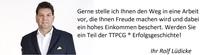 Berufliche Sicherheit mit TTPCG ®