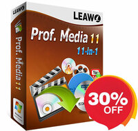 Leawo Software stellt Prof. Media Mac 11.0.1 vor, mit neu hinzugefügten Funktionen und beseitigten Fehlern.