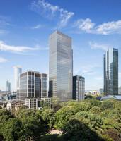 Drittes CONTORA Office Solutions Center eröffnet Ende 2021 im Frankfurter Marienturm