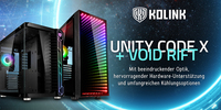 Neu: Kolink Unity Code X ARGB & Void Rift ARGB Midi-Tower