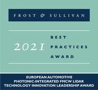 Scantinel Photonics erhält den 2021 Best Practices Technology Innovation Leadership Award   von Frost & Sullivan