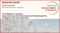 Online Symposium: From Obligation to Aspiration -  Supply Chain Laws and the  Business Case Of Putting People First