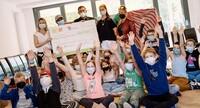 10-jähriges Jubiläum mit dem Deutschen Kinderhilfswerk: