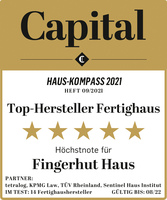 """Top-Hersteller: Platz 1 für Fingerhut Haus im """"Capital Haus-Kompass"""""""