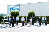 Bundesminister Helge Braun besucht KRAUSE-Werk in Alsfeld